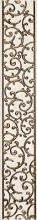 Бордюр АНАСТАСИЯ вертикальный белый 1504-0132 (7,5х45) купить