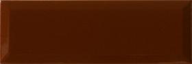 Плитка настенная Marron brillo bisel (10х30) купить