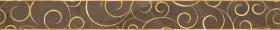 Бордюр Миланезе дизайн 1506-0158 Флорал Марроне (6х60) купить