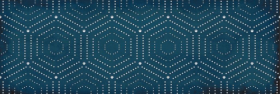 Декор ПАРИЖАНКА 1664-0180 геометрия синий (20х60) купить