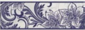 Бордюр Азур синий 1501-0054 (25х8,5) купить