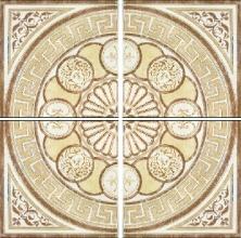 Панно Roseton Onix crema (44х44) компл. из 4 шт. купить