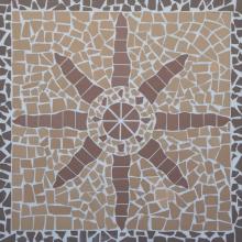 Мозаика-панно клинкерное Звезда 100*100 купить