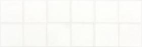Плитка настенная мозаичная MAJOLIKA белая WARVE143 (20х60) купить