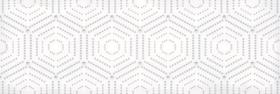 Декор ПАРИЖАНКА 1664-0183 геометрия белый (20х60) купить