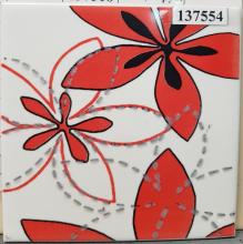 Декор Aplauz flower czerwony centro 1 (10х10) купить