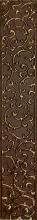Бордюр АНАСТАСИЯ вертикальный шоколад 1504-0133 (7,5х45) купить