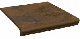 Клинкер ступень прямая с капиносом Semir Beige Kapinos Stopnica Prosta (30x33) 6 шт. купить