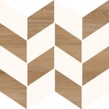 Вставка Love You Navy O-LYN-WIE052 мозаика A сатиновая белый (29x29) купить