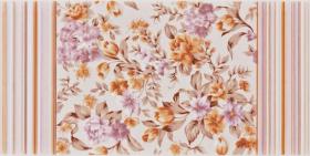 Декор EASY бежевый WITMB066 цветы (20х40) купить