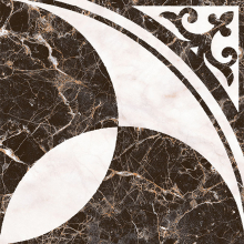 """Плитка напольная """"Пастораль"""" декор (39х39) 01-10-1-16-01-04-460 купить"""