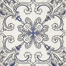 """Керамогранит Ceramika Paradyz """"Sevilla Azul Decor A"""" (19,8x19,8) купить"""