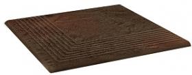 Клинкер ступень угловая структурная Semir Brown Stopnica Narozna (30x30) 0,9 купить