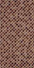 """Плитка настенная """"Симфония"""" темно-коричневый (25х50) купить"""