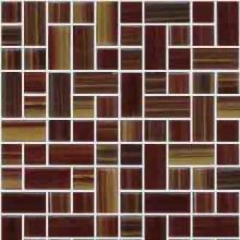Мозаика керамогранит металлик медный k5077654  М5х5см (30х30) купить