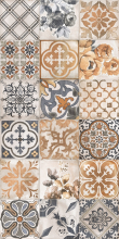 Плитка настенная СИЕНА 1041-0163 декорированная универсальная (20х40) купить