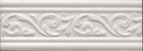 Бордюр Arabesco белый БШ131061 (23х8,2) купить