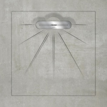 Душевой поддон SLOPE BETON Grey Linear Massive (90х90) 40020310250100 купить