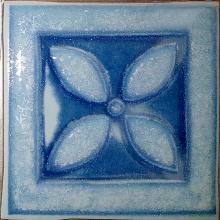 Декор  ARLEKINADA   kolombina 4  blekit (9,8х9,8) купить