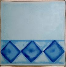 Декор  ARLEKINADA   niebieska (9,8х9,8) купить