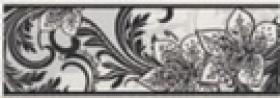 Бордюр Азур черный 1501-0046 (25х8,5) купить