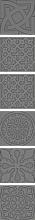 "Декор ""Enigma"" серебряный k076622 (5х5) купить"