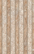 """Плитка облицовочная """"Гермес"""" коричневый полоски (40х25) 00-00-1-09-00-15-150 купить"""
