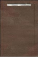 Душевой поддон SLOPE COSMO 524 Copper line (80х120) 40040210350200 купить