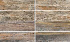 Глазурованный керамический гранит ВЕСТЕРН ВУД 6064-0014 коричневая (19,9х60,3) купить
