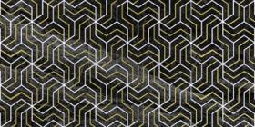 Декор Crystal Fractal черный (30х60) купить