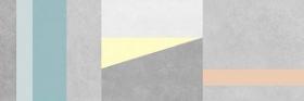 Плитка настенная Cement серый узор (25х75) купить