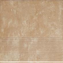 Клинкер ступень прямая структурная Ilario Beige Stopnica Prosta (30x30) 0,9 купить