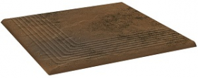 Клинкер ступень угловая структурная Semir Beige Stopnica Narozna (30x30) 0,9 купить