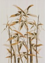 """Вставка """"Ретро бамбук 1"""" коричневый (25х35) купить"""