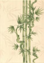 """Вставка """"Ретро бамбук 2"""" салатовый (25х35) купить"""