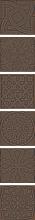 "Декор ""Enigma"" бронзовый k076633 (7,5х7,5) купить"