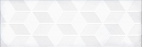 Декор ПАРИЖАНКА 1664-0184 гексагон белый (20х60) купить