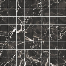 Мозаика BLACK & WHITE K-61 LR m01 черная (30х30) купить