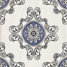 """Керамогранит Ceramika Paradyz """"Sevilla Azul Decor B"""" (19,8x19,8) купить"""