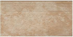 Клинкер ступень прямая структурная Ilario Beige Stopnica Prosta (30x60) 1,08 купить