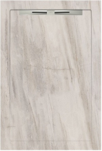Душевой поддон SLOPE HILL 529 White line (80х120) 40050210150200 купить