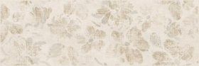 Вставка Organic OR2U011 цветы бежевый (25x75) купить