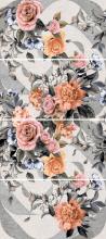 Панно ЛОФТ СТАЙЛ 1609-0020 цветы (45х100) компл. из 4 штук купить