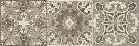 Декор ТРАВЕРТИНО 3064-0004 (3606-0016-старый код) орнамент (19,9х60,3) купить