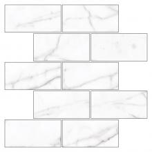 Мозаика BLACK & WHITE K-60 LR m13 белая (30,7х30,7х1) купить