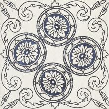 """Керамогранит Ceramika Paradyz """"Sevilla Azul Decor C"""" (19,8x19,8) купить"""