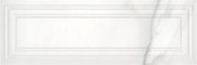 Плитка настенная Gatsby GTU052 рельеф белый (25x75) купить