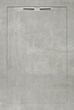 Душевой поддон SLOPE BETON Grey Line (80х120) 40020210250200 купить