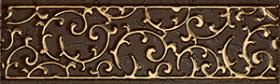 Бордюр АНАСТАСИЯ шоколад 1502-0605 (7,5х25) купить