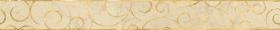 Бордюр Миланезе дизайн 1506-0156 Флорал Крема (6х60) купить